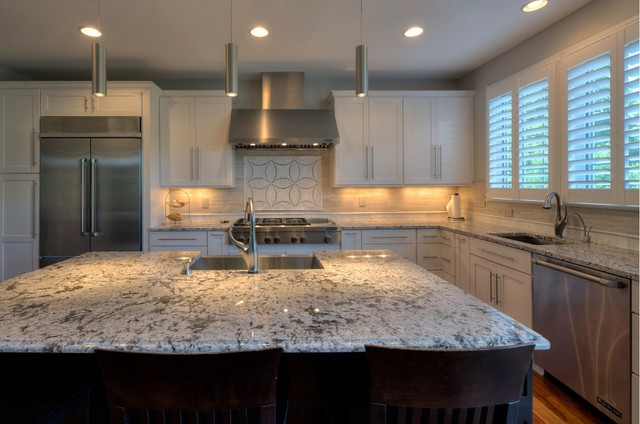 Backsplash For Bianco Antico Granite Fair Beautiful Bianco Antico Granite Kitchen With Custom Tile . Design Inspiration