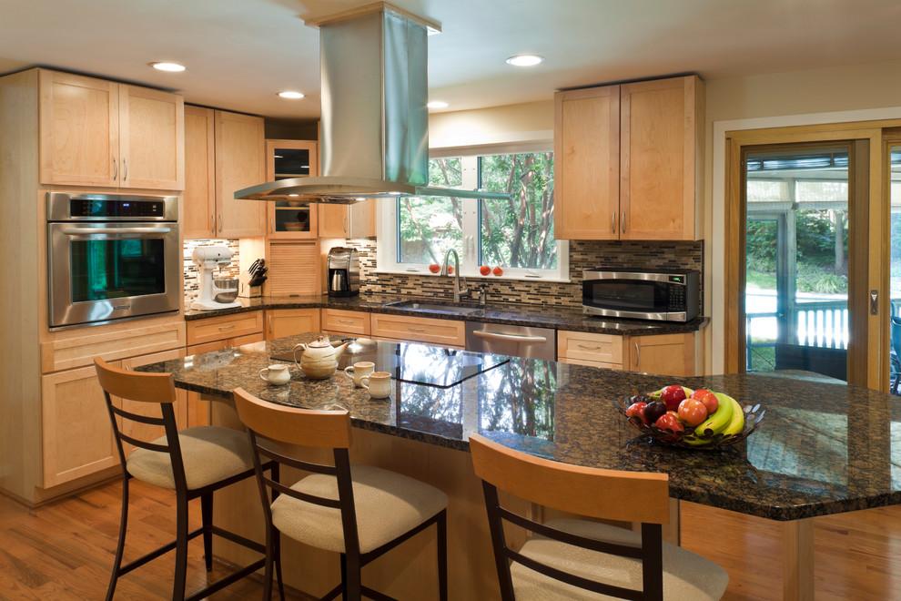 Trendy kitchen photo in Baltimore
