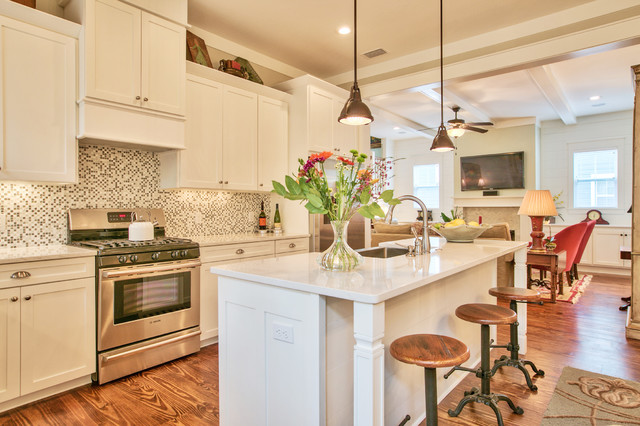 Beautiful Cottage in Tallahassee FL Craftsman Kitchen  : craftsman kitchen from www.houzz.com size 640 x 426 jpeg 98kB