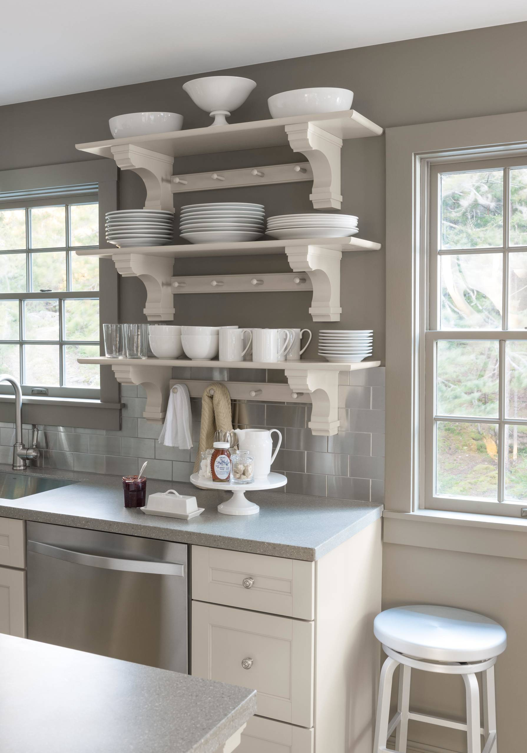Martha Sharkey Gray Kitchen