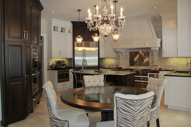 Beautiful high end barrie home contemporary kitchen for Kitchen cabinets barrie