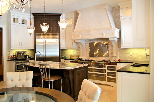 beautiful high end barrie home traditional kitchen