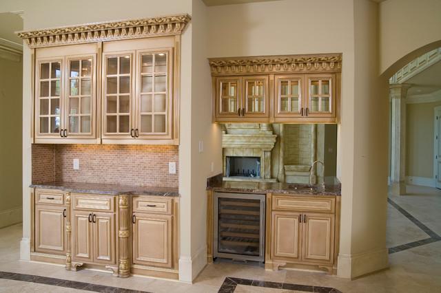 Beautiful Homes Built mediterranean-kitchen