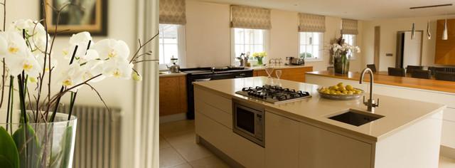 Moor House, Surrey contemporary-kitchen