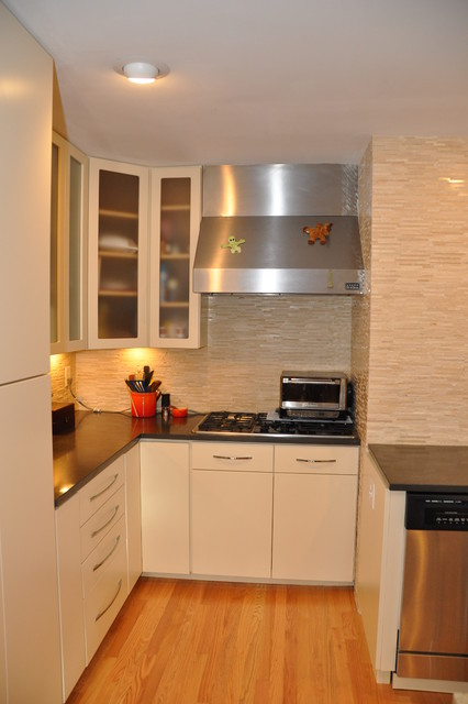 Beautiful Kitchen Transformation done with Cabinet Refacing - Contemporary - Kitchen - dc metro ...