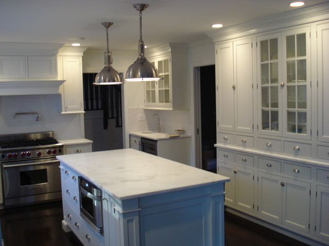 Beautiful Marble Counters Traditional Kitchen new