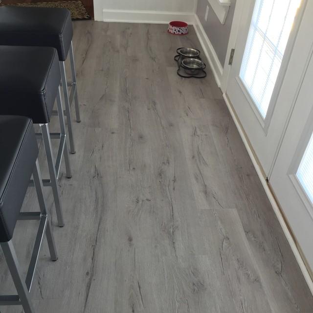 Beautiful Tile Backsplash amp LVP Flooring Modern