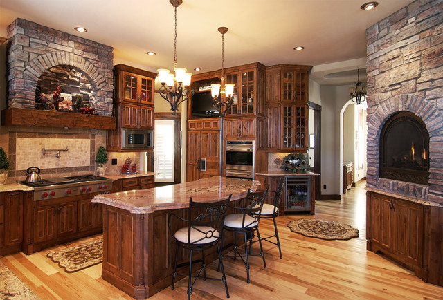 Beautiful Timber Ridge Properties Kitchen Coronado Stone – Mediterranean Kitchen