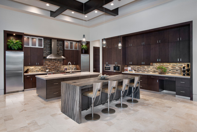 beauty through design contemporary kitchen miami