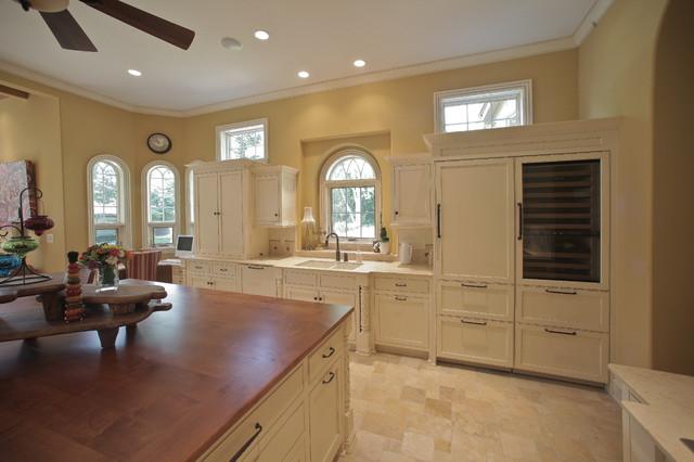 Beaver Lake Custom Home contemporary-kitchen