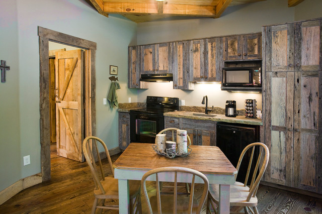 build kitchen cabinets guest house compound on beaver lake 1854