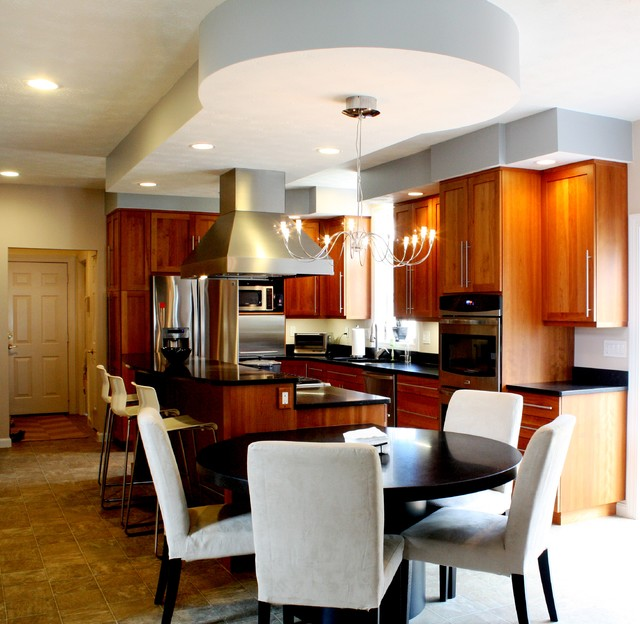 Bedford Contemporary Kitchen boston by Don Smith