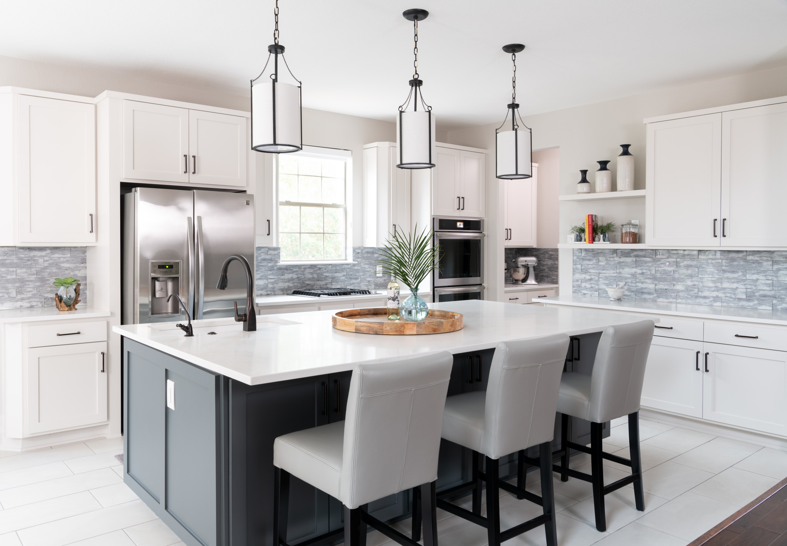 9 Beautiful White Floor Kitchen Pictures & Ideas   September ...