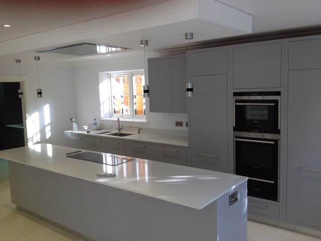 Beeches walk sevenoaks contemporary kitchen south east by truphet uk limited Kitchen design of sevenoaks