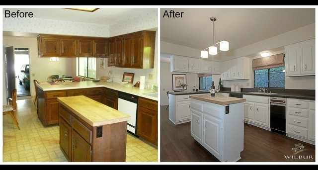 Before After Home Staging In Pasadena Traditional