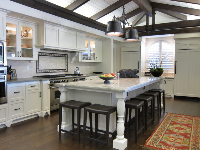 Before and After- Canyon Residence traditional-kitchen