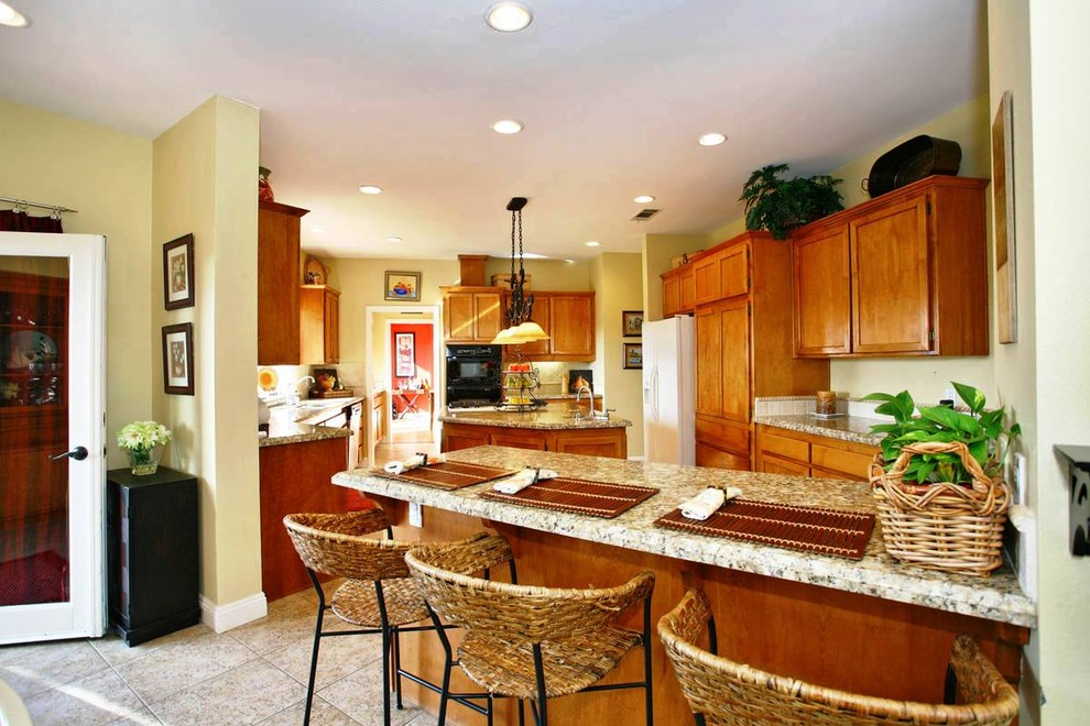 Before-and-After Photos - Traditional - Kitchen - San ...