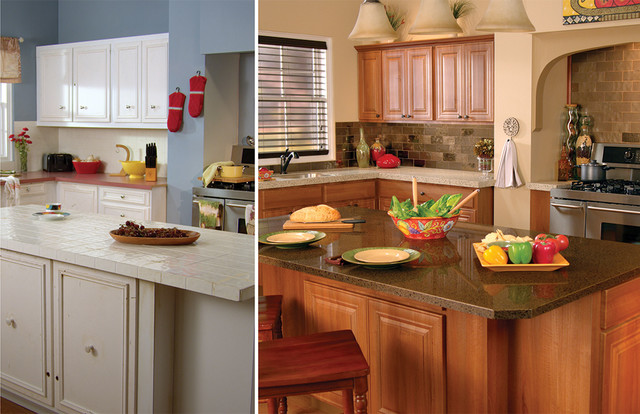 Before and After Photos traditional-kitchen