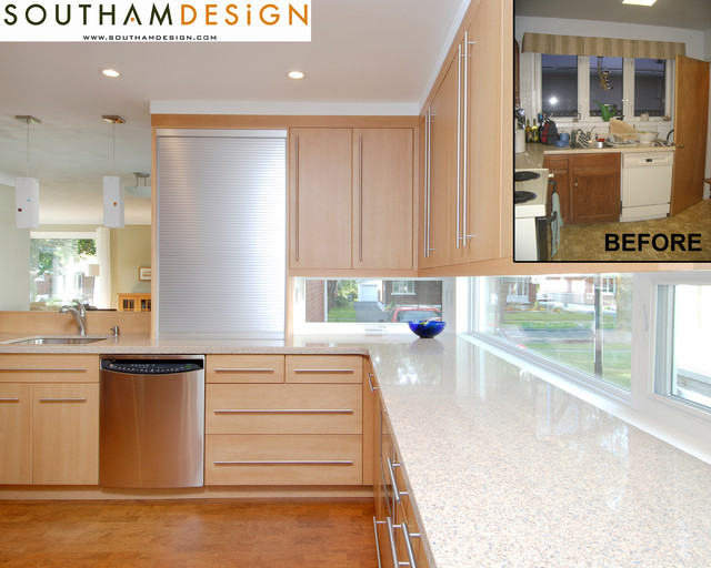 Before & After Project Photos contemporary-kitchen