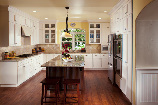 Before & After traditional-kitchen