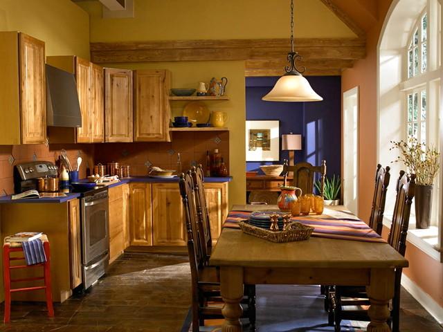"Behr Paint ""Idea"" photos traditional-kitchen"