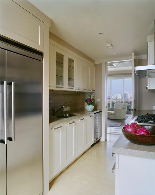 Beijing Penthouse contemporary-kitchen
