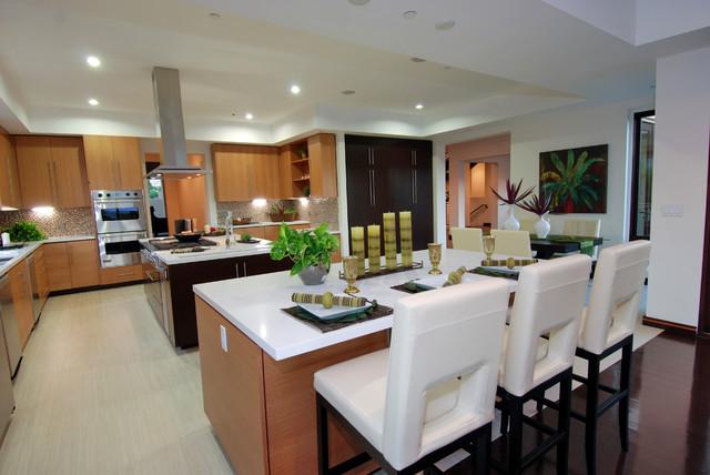 Bel Air Modern Modern Kitchen Los Angeles By
