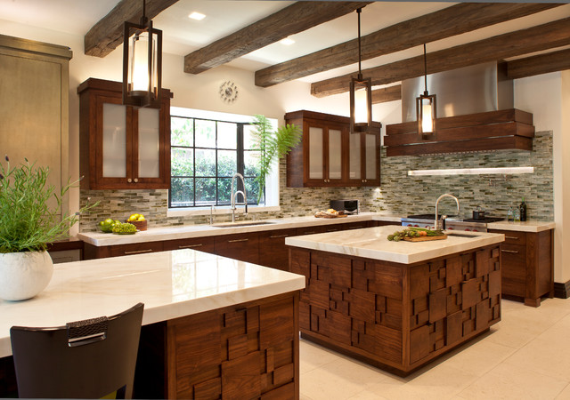Bel Air Residence Contemporary Kitchen Los Angeles
