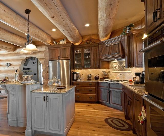 Belchertown, MA rustic-kitchen