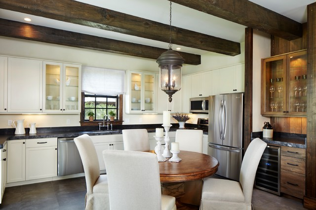 Belgian Chic Cabin - Rustic - Kitchen - Other - by Giana Allen ...