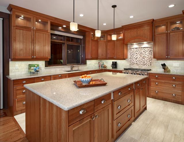 Belgravia Timber Traditional Kitchen Edmonton By Habitat Studio