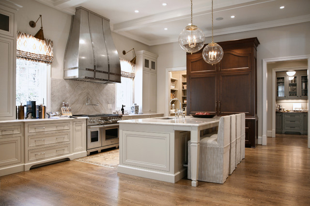 Genial Inspiration For A Traditional Kitchen In Atlanta.