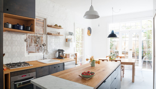 How To Mix And Match Kitchen Countertop Materials