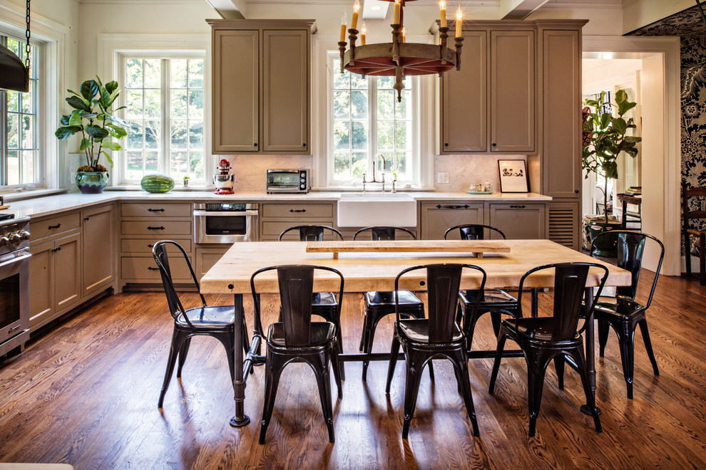 Belle Meade Classic Style Home Renovation 2 Traditional Kitchen Nashville By Wills Company