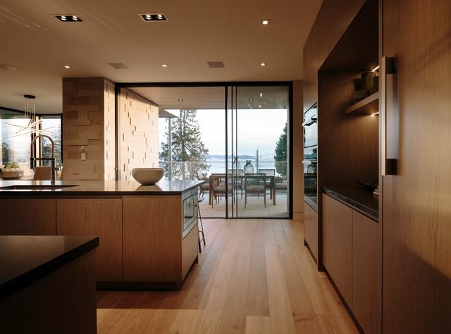 Bellevue Avenue Home contemporary-kitchen