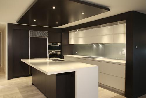 Modern Kitchen Exhaust Hoods is the exhaust hood hidden behind cabinets?