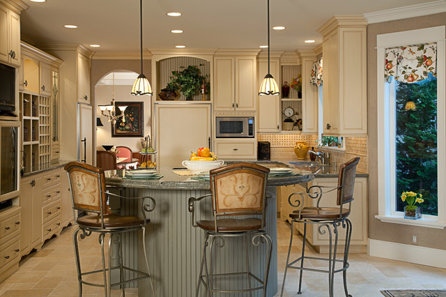 Bellevue Residence Traditional Kitchen Seattle By