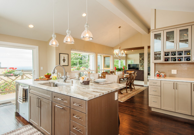 Bellevue Somerset Remodel Transitional Kitchen