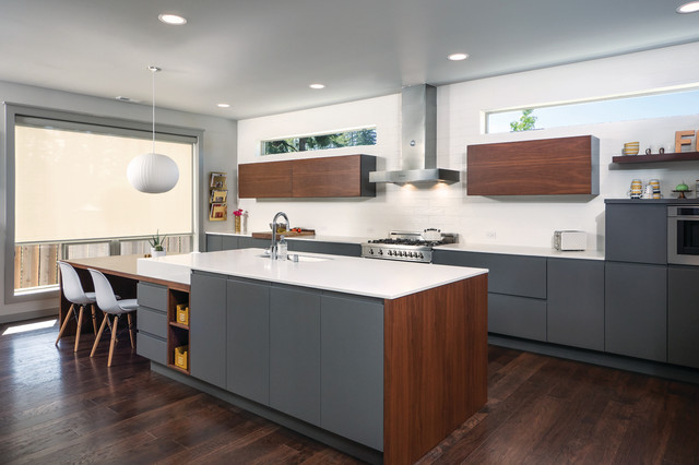 Bellmont 1900 Series Contemporary Kitchen Seattle By