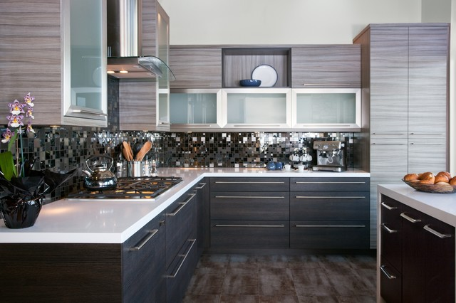 Bellmont Cabinets - Modern - Kitchen - other metro - by ...