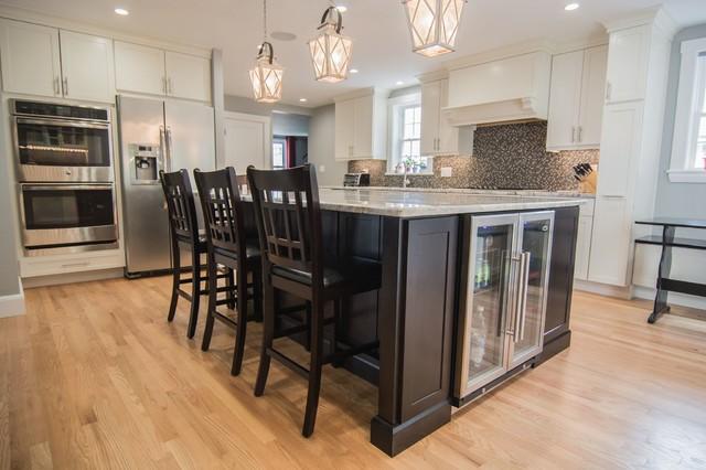 Belmont Addition - Transitional - Kitchen - Boston - by JAZ Design, Inc.
