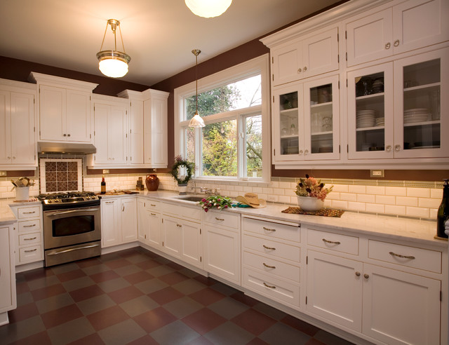 Belmont Craftsman - Contemporary - Kitchen - portland - by Square Deal ...