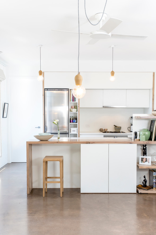 Belmont House - Contemporary - Kitchen - Melbourne - by ...