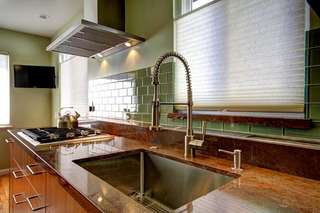 Belmont Kitchen Remodel contemporary-kitchen
