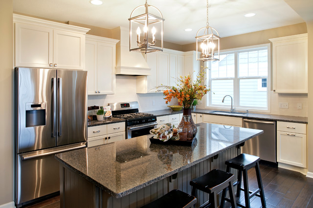 Belmont model home kitchen traditional kitchen for Kitchen models pictures