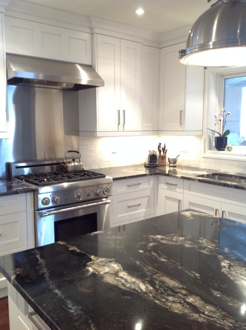 Like the countertop backsplash combo what is the for Kitchen cabinets 60007