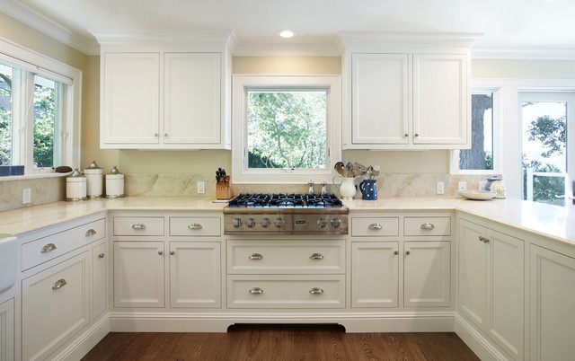 Belvedere, California - Traditional - Kitchen - San Francisco - by Keith Bruns Woodworking