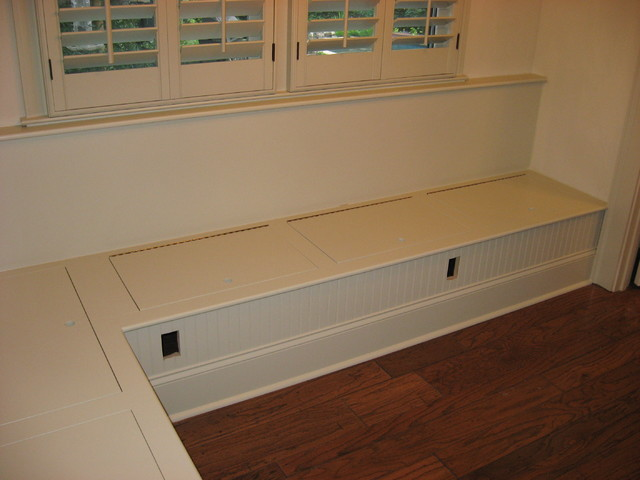Bench seating traditional kitchen atlanta by true carpentry and cabinetry Kitchen bench seating