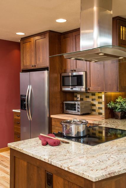 Bend bungalow estilo craftsman cocina portland de - Instaladores de cocinas ...