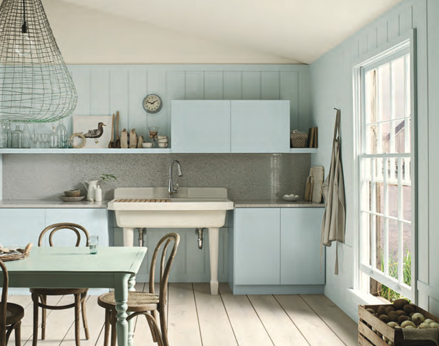 Benjamin Moore Paint Colors Beach Style Kitchen Orlando By Island Pai